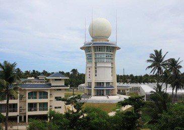 中共正式啟用永暑礁、渚碧礁、美濟礁三座島礁上的氣象觀測站。 (觀察者網)