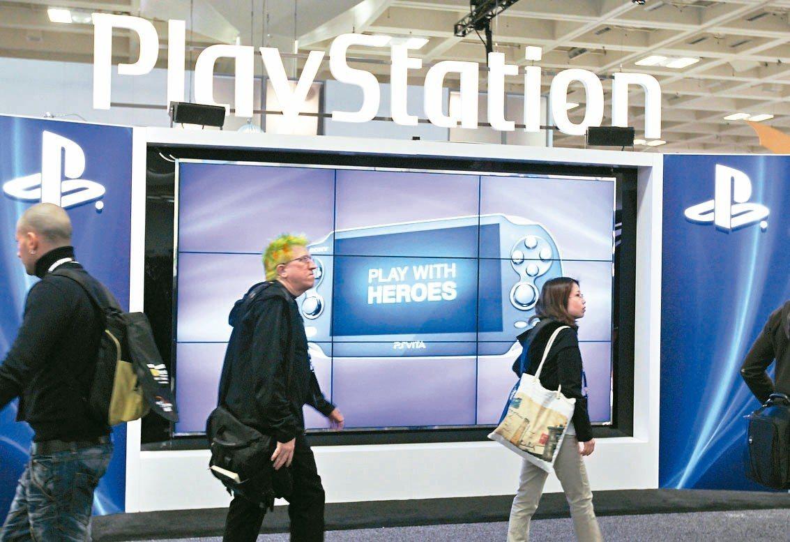 Sony PS4銷售暢旺。 美聯社