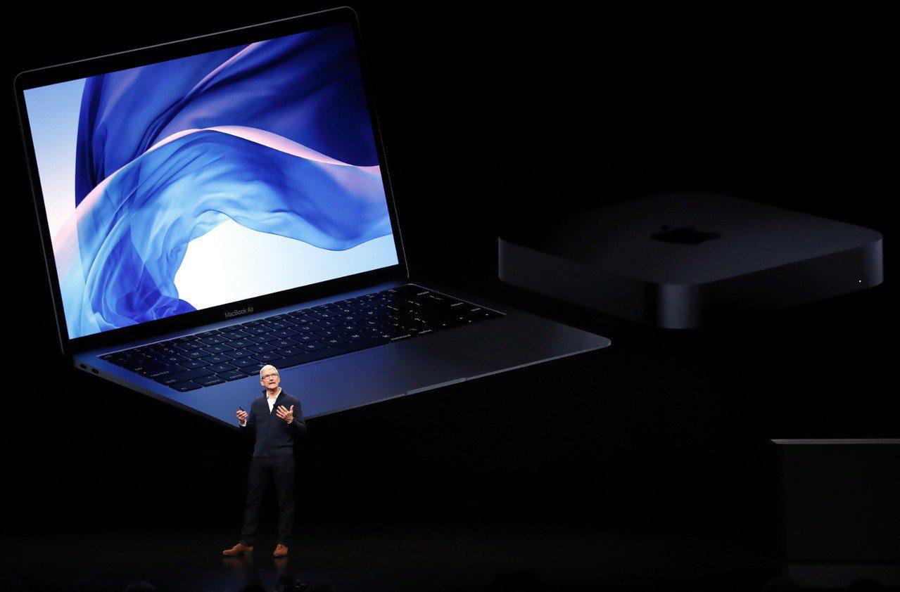 蘋果於紐約發表全新Mac系列新品,包括New MacBook Air與New M...