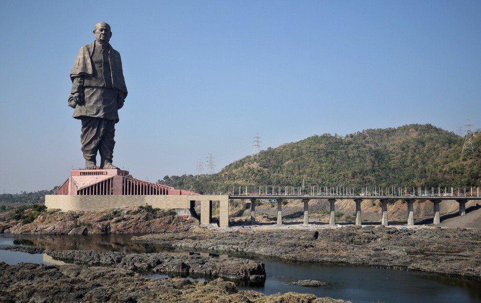 紀念印度獨立英雄巴特爾(Sardar Vallabhbhai Patel)的團結...