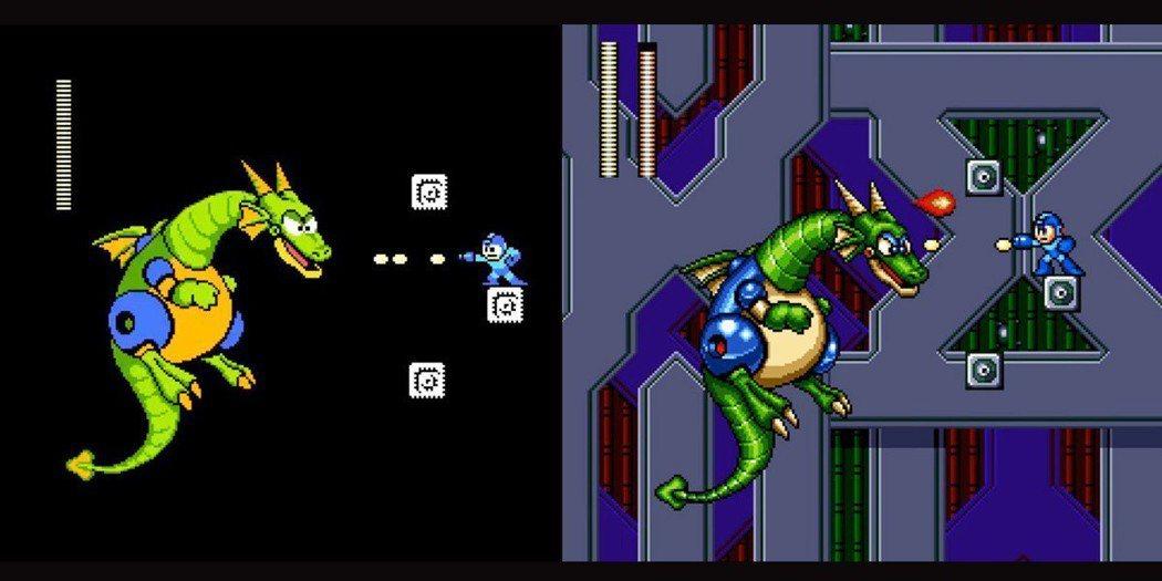 比比看就知道Sega的版本和FC紅白機差多少,連音樂也是重新編曲。