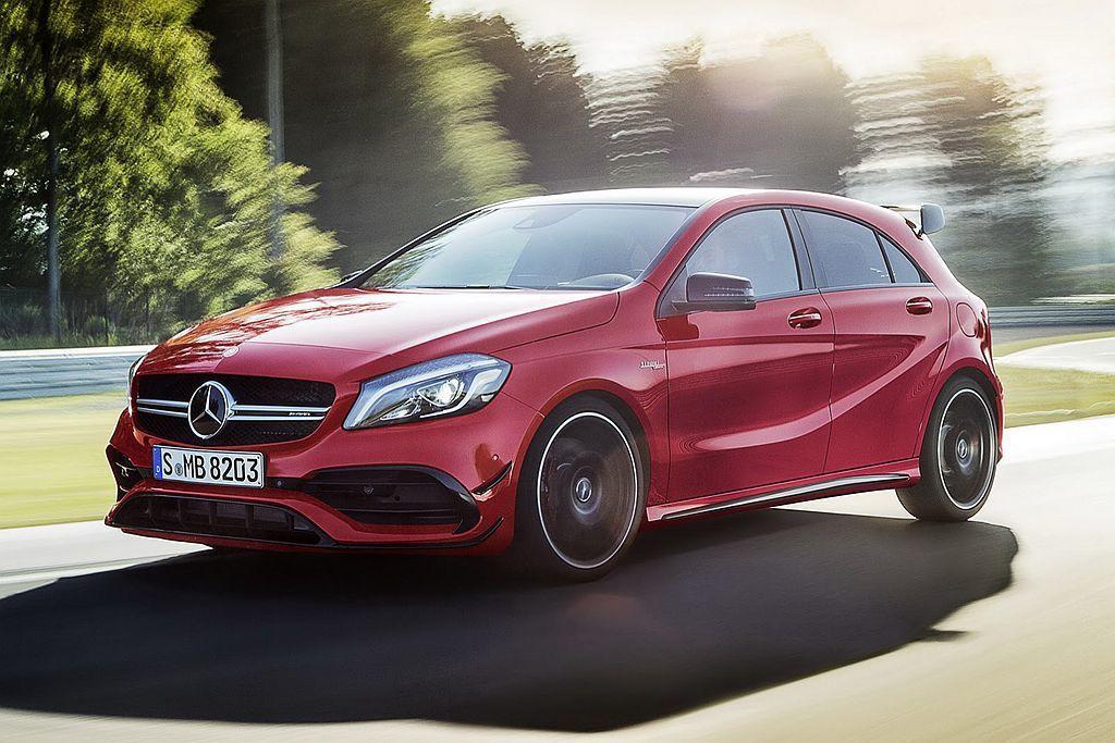 相比2015年7月推出的小改款Mercedes-AMG A45 4Matic,其實Mercedes-AMG A35 4Matic的售價並沒有便宜太多。 圖/Mercedes-AMG提供