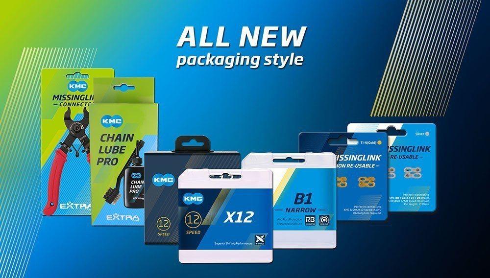 KMC新品牌包裝。 KMC/提供。