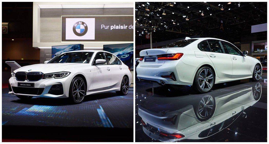 全新世代BMW 3-Series Sedan(G20),日前在巴黎車展上正式發表。 摘自BMW