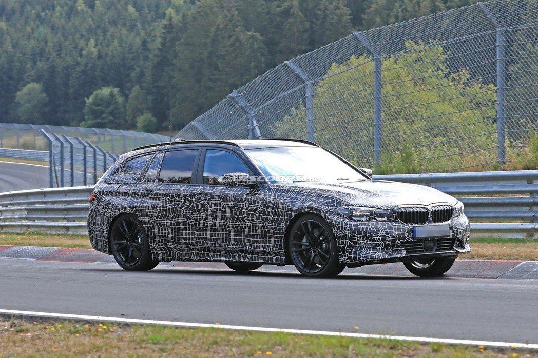 全新BMW 3-Series Touring(G21)預計將在明年日內瓦車展中發表。 摘自Carscoops