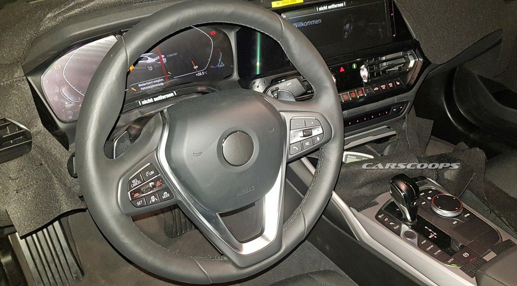 全新BMW 3-Series Touring(G21)內裝無偽裝露出。 摘自Ca...