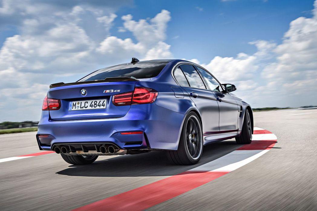 現行版BMW M3 CS,同時也是F80世代的最終款M3。 摘自BMW