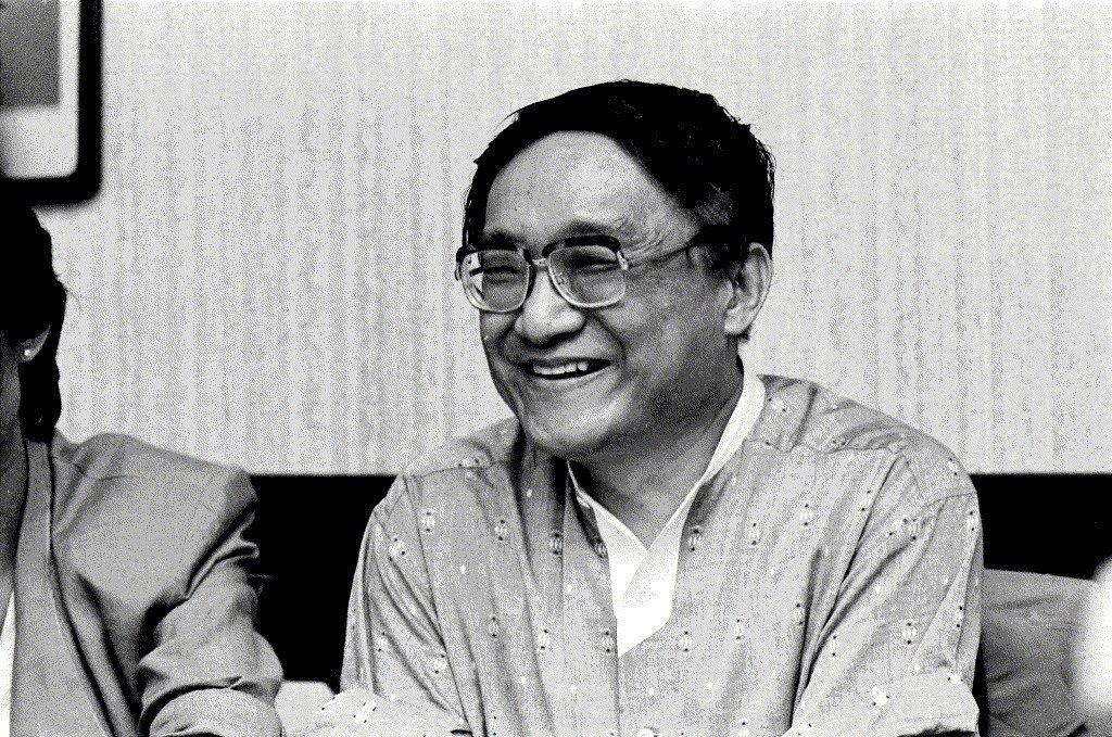 金庸,攝於1983年。 圖/聯合報系資料照