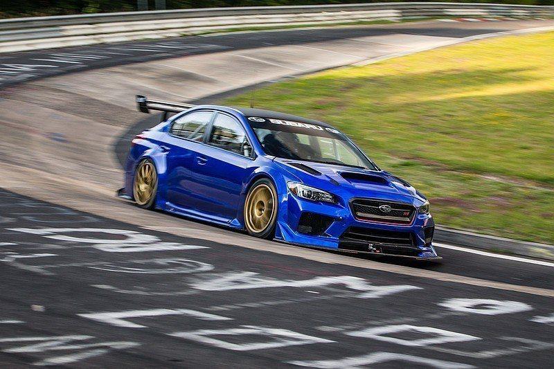 Subaru WRX STI Type RA在紐柏林創下6分57秒05的驚人紀錄...