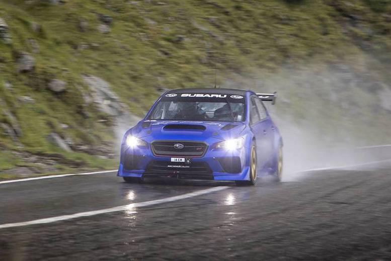 影/最狂道路機器Subaru WRX STI Type RA再創山道紀錄!