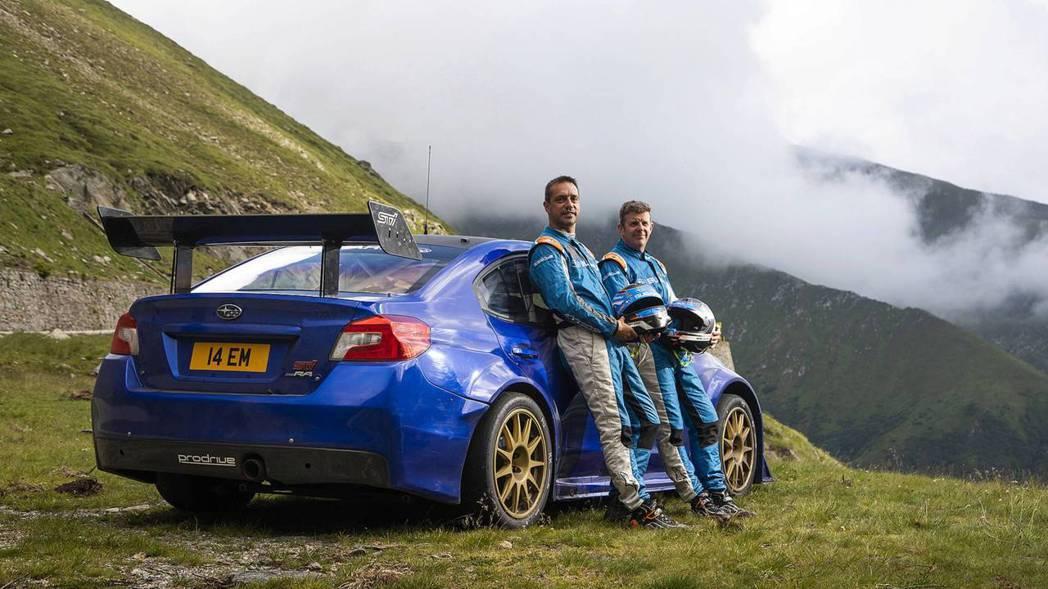 Mark Higgins最終也完成了Transfăgărășan山道挑戰。 摘自...