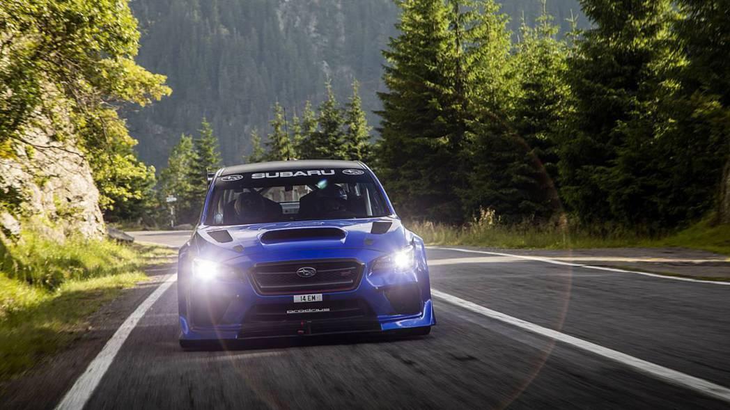Subaru WRX STI Type RA。 摘自Subaru