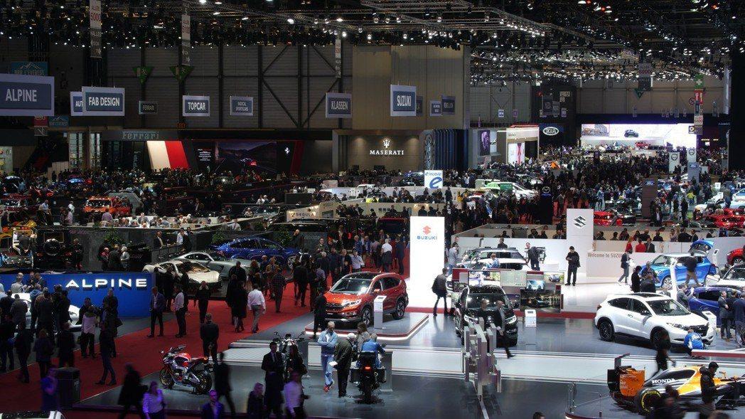 傳統車展的進場人數日益減少。 摘自Motor1