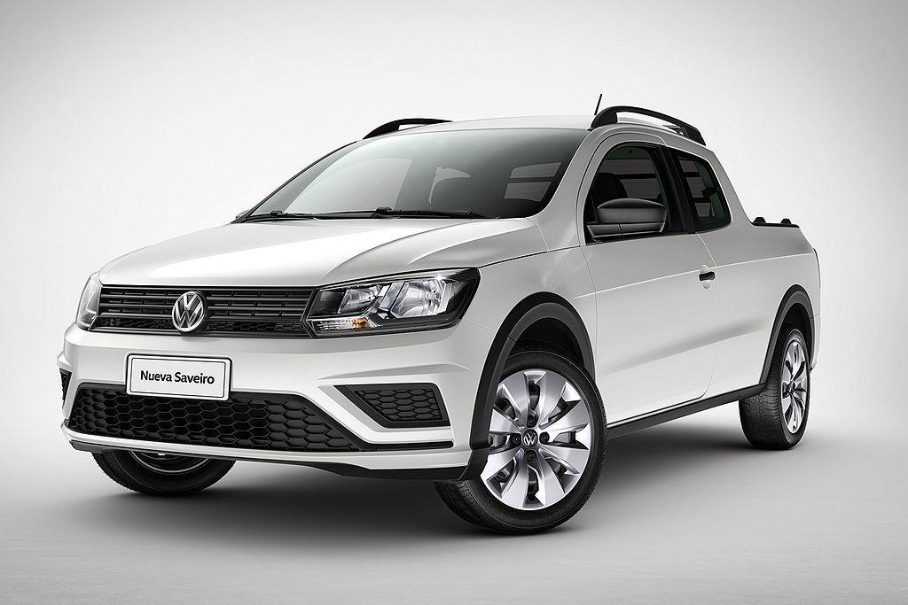 巴西市場專屬的福斯Saveiro,是目前品牌旗下最小的皮卡車。 圖/Volkswagen提供