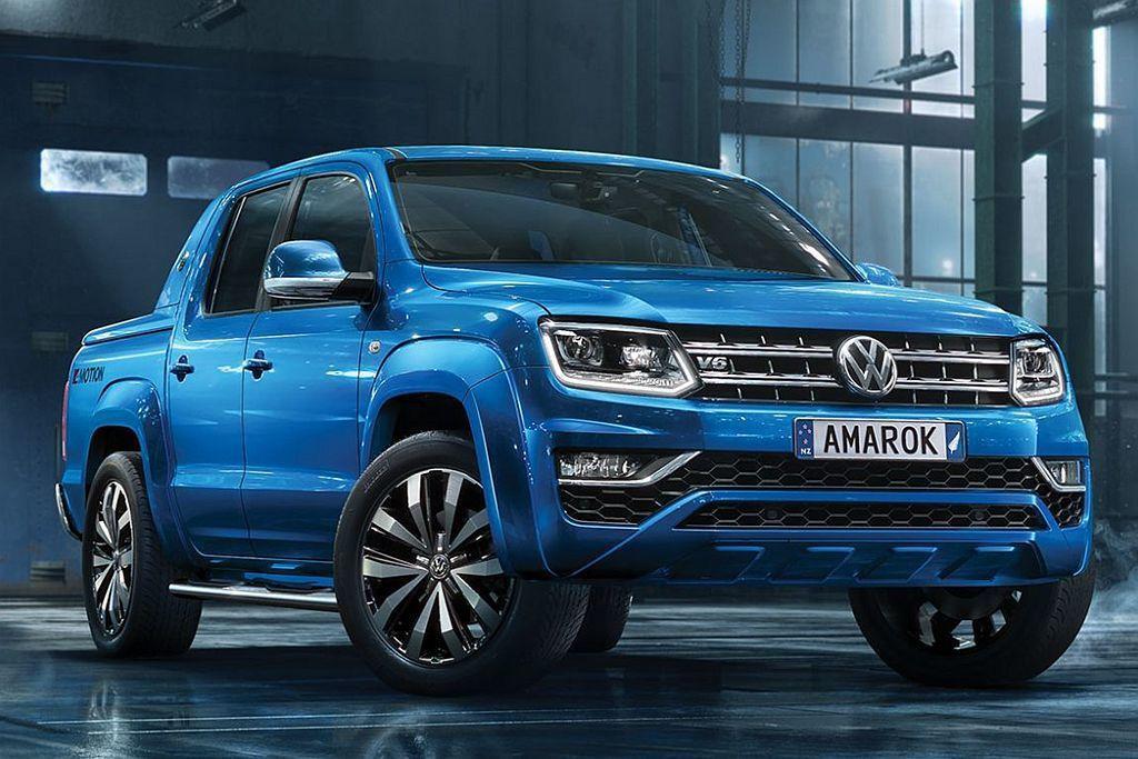 在休旅陣容全數到位後,福斯汽車下個擴展的車型將會是皮卡車? 圖/Volkswagen提供