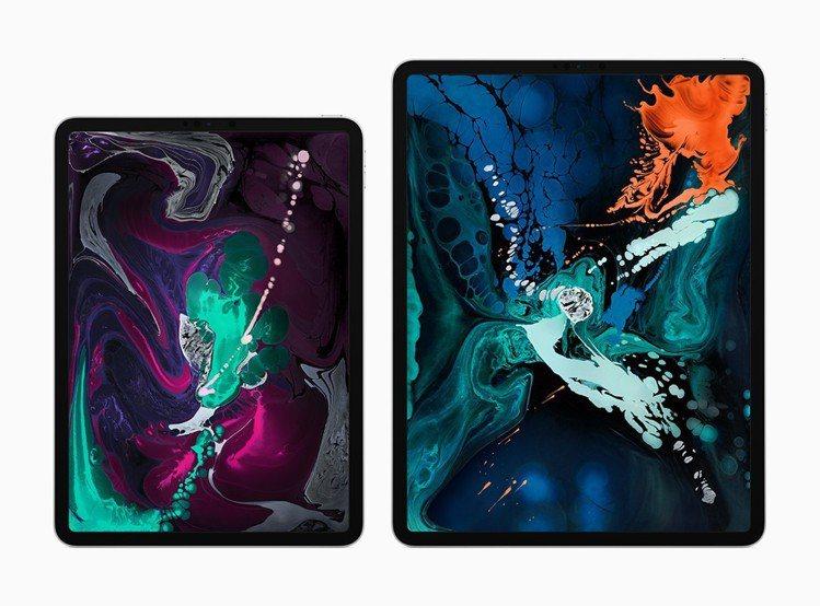 全新iPad Pro有11吋與12.9吋兩種規格,建議售價26,900元起。圖/...