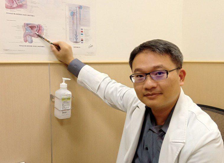台南市立安南醫院泌尿科主任陳億聲 圖/安南醫院提供
