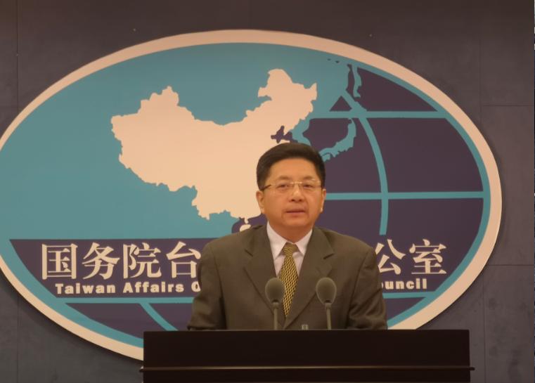 中共國台辦發言人馬曉光表示,台灣陸委會負責人肆意挑釁,只會進一步升高兩岸緊張對立...