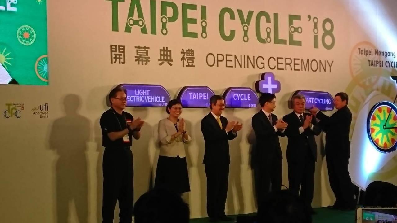 「2018台北國際自行車展」10月31日登場。 記者黃淑惠/攝影
