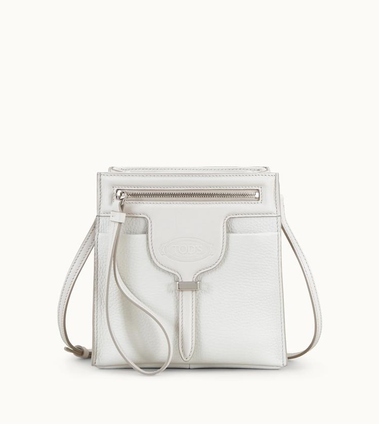 TOD'S白色皮革迷你 Thea Bag,33,400元。圖/迪生提供
