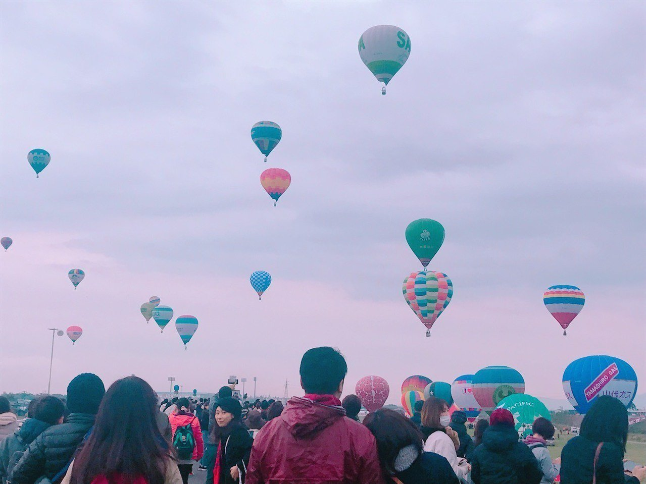 亞洲規模最大的日本佐賀熱氣球節今(31)日登場,有來自17個國家地區,共111顆...