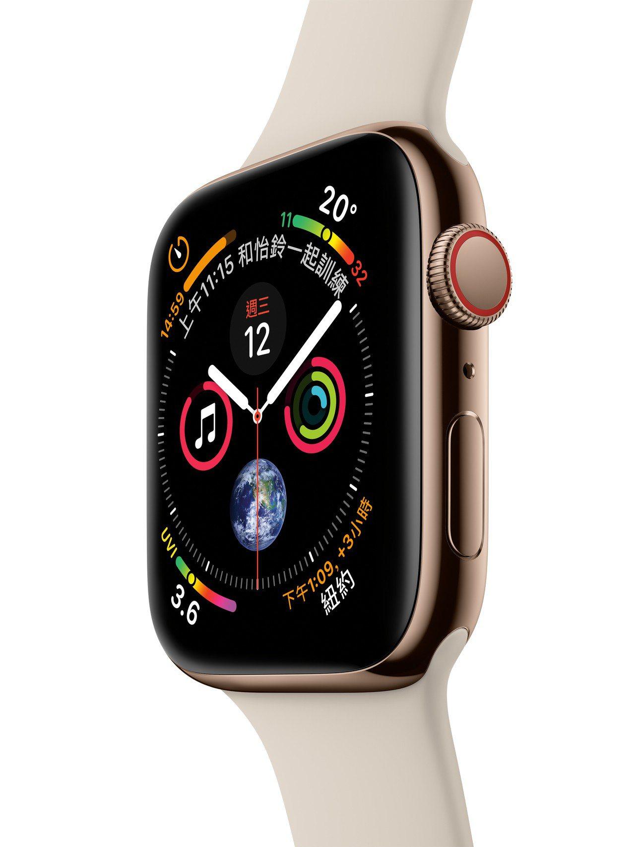 遠傳電信11月2日中午12點起開放Apple Watch Series 4預約登...