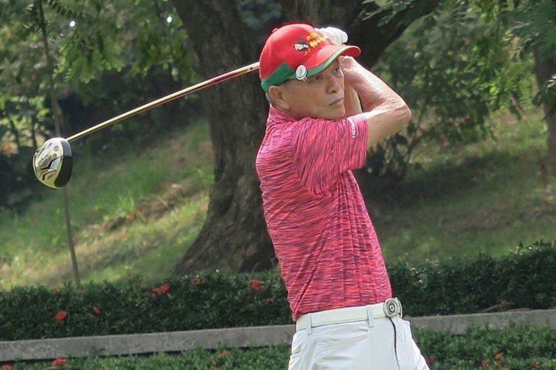 謝敏男。資料照(圖/台灣長春職業高爾夫協會提供)