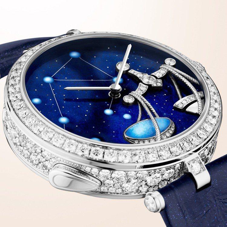 Lady Arpels Zodiac Lumineux Libra 天秤座腕表,...