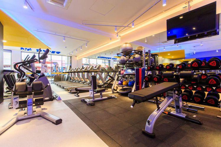 BEING fit坎城門市引進國際專業的重量訓練器材,並針對南部消費者安排高人氣...