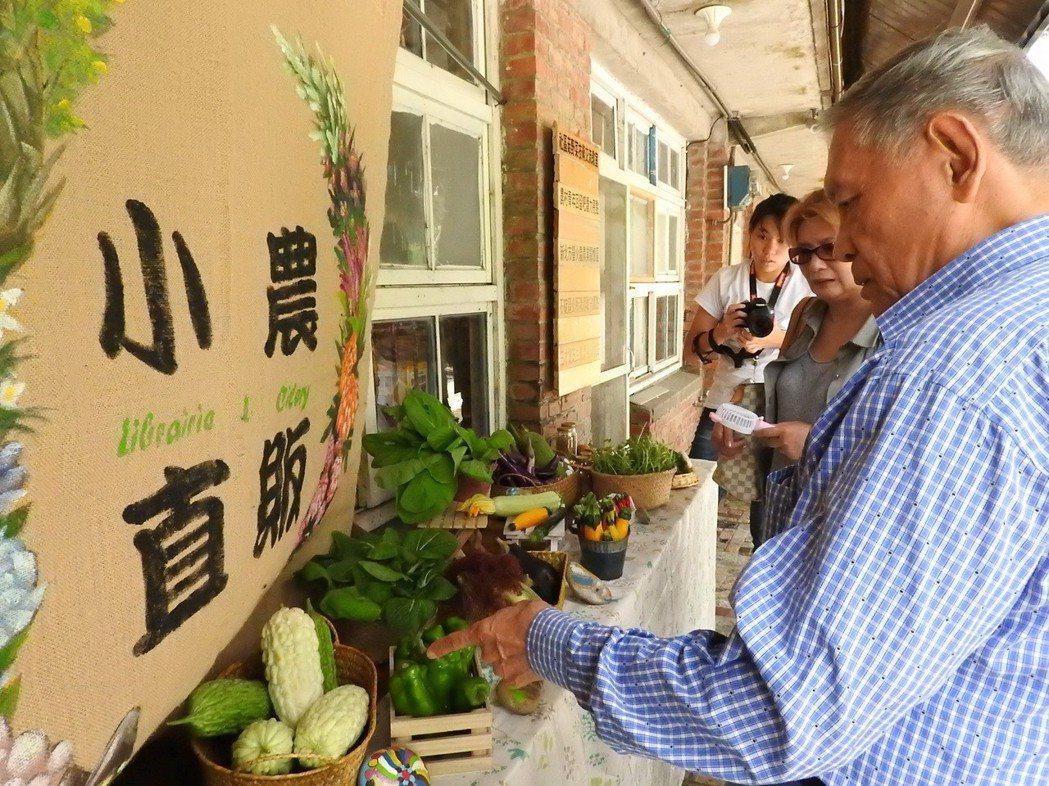 螢火蟲公益書屋還串連青農,希望創造收益模式,永續經營。記者祁容玉/攝影