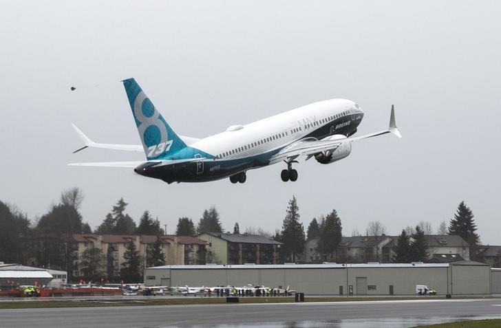 獅航波音737 MAX客機。 (路透)