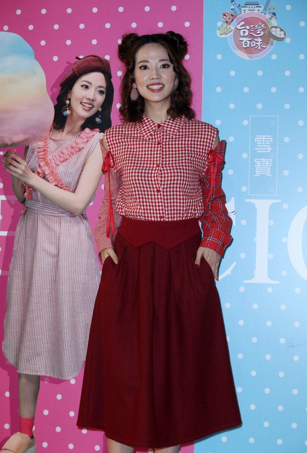 阿諾擔任高點電視台新節目「台灣百味」主持人。記者曾吉松/攝影