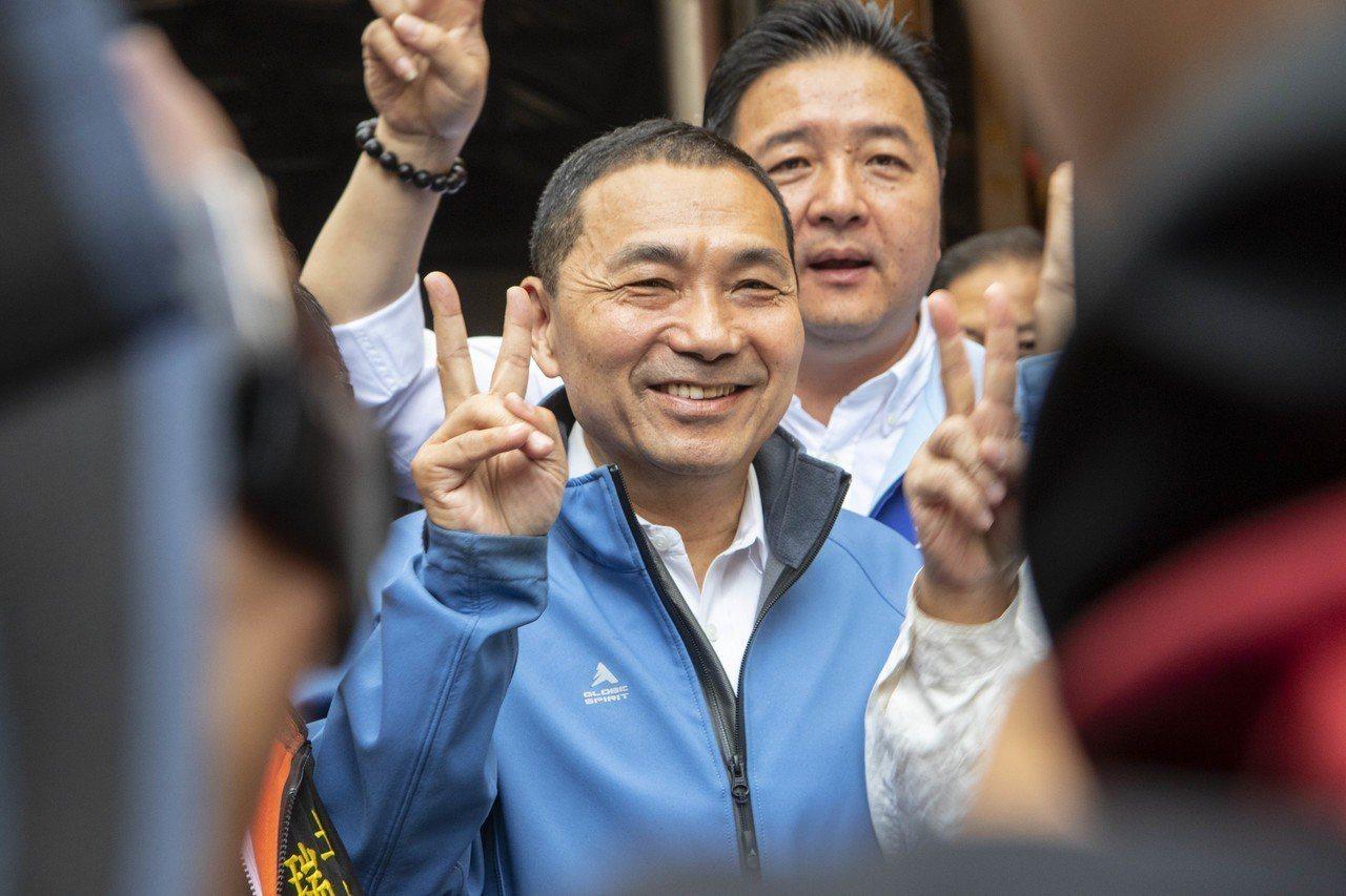 國民黨新北市長候選人侯友宜。 圖/聯合報系資料照片