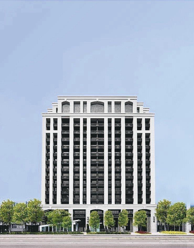 「僑聯大千」不惜建材及造價成本,打造傳世百年建築。 業者/提供