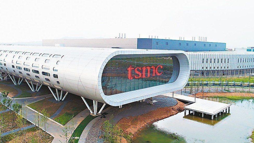 台積電大陸南京晶圓廠。 圖/台積電提供