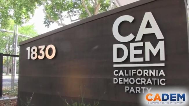 加州民主黨總部,接郵包炸彈。圖/截自CADEM