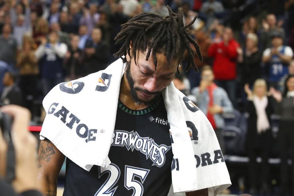 在羅斯締造50分的這個夜晚,許多NBA球星也紛紛獻上敬意。 美聯社