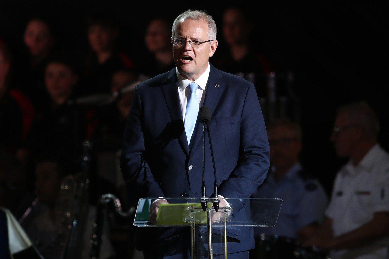 澳洲總理莫里森。 歐新社