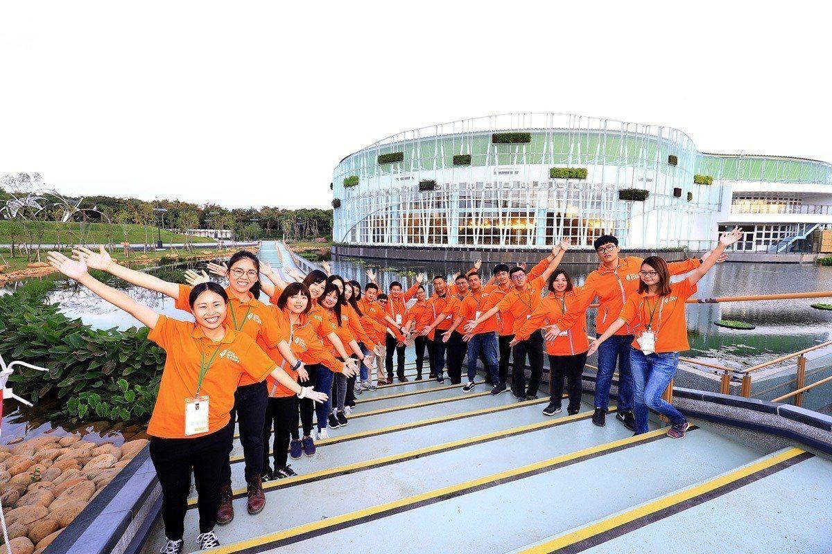 花博外埔園區橘衣營管團隊 成員經驗豐富 圖/臺中市政府新聞局 提供
