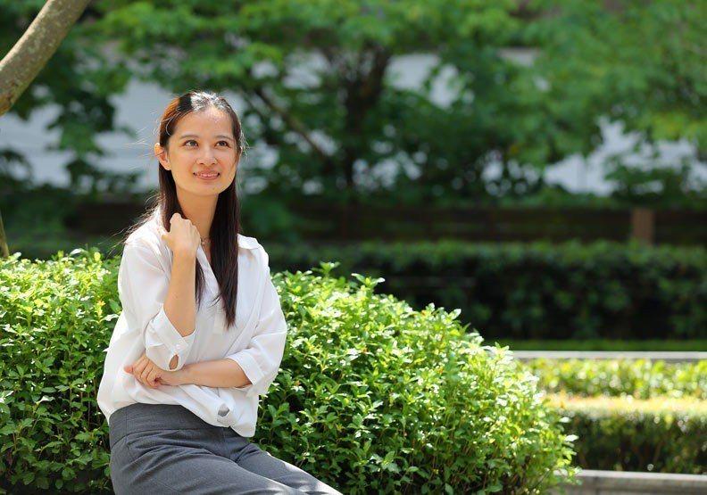 美國非營利組織Give2Asia亞太經理張瀞仁。圖/遠見提供