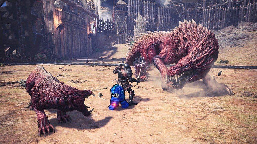 把洛克人放在其他遊戲裡面,都能成為一項吸引人的強力要素。(圖為Capcom的《魔...