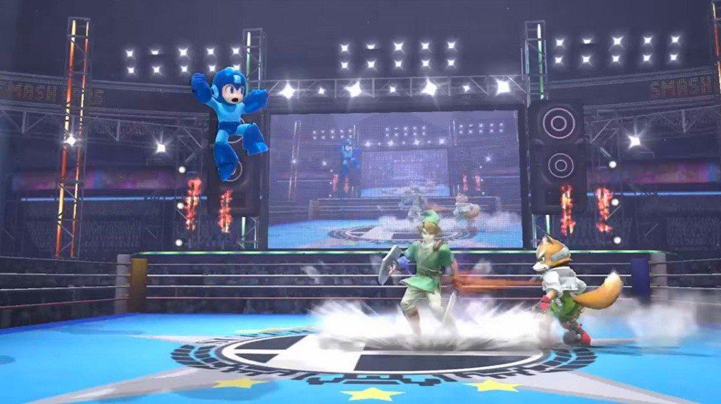 就算和任天堂大亂鬥一起來場比賽也很吸睛。
