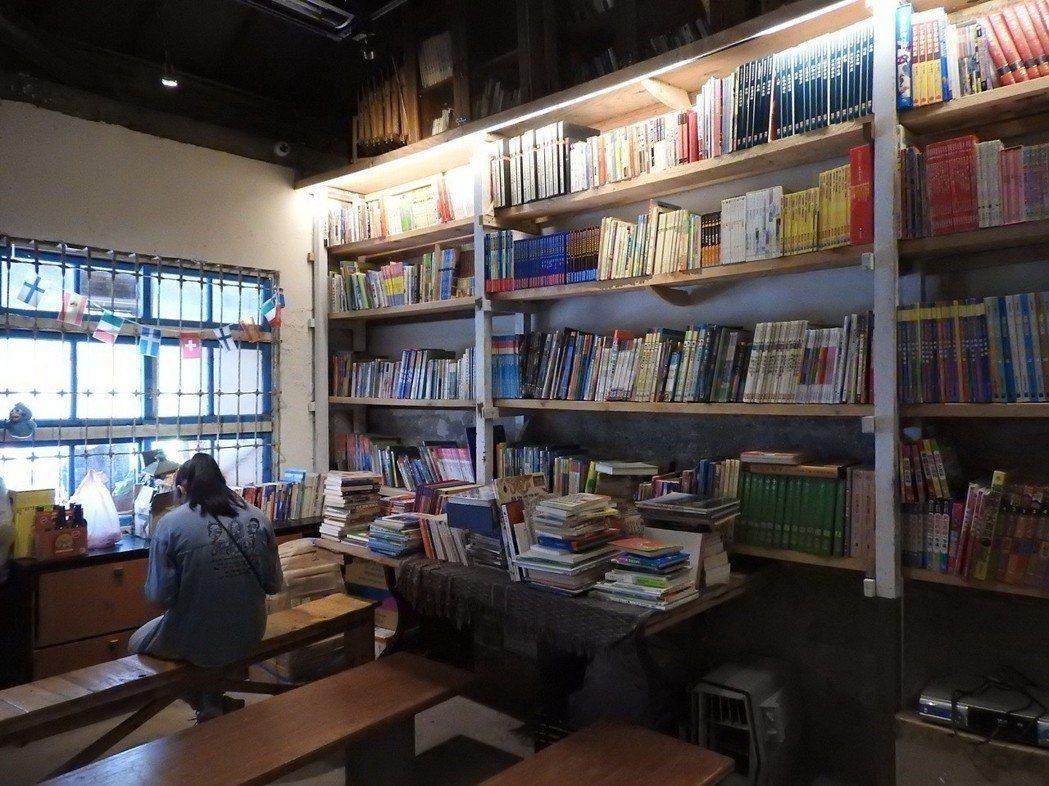 螢火蟲公益書屋。記者祁容玉/攝影