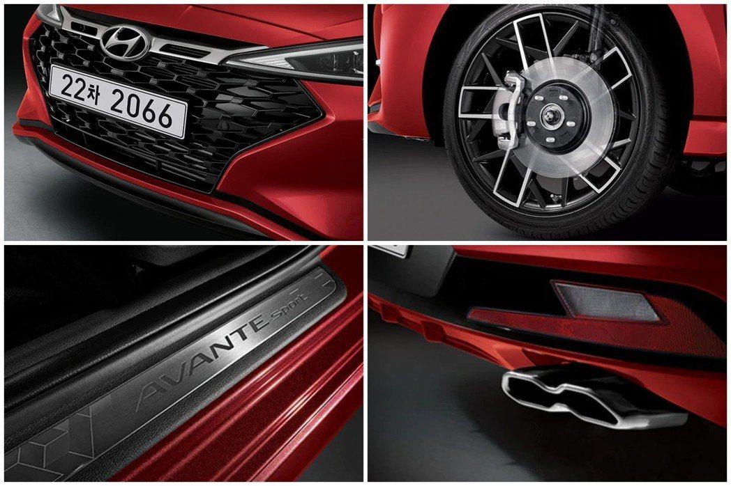 小改款Hyundai Elantra Sport (韓版稱Avante Spor...