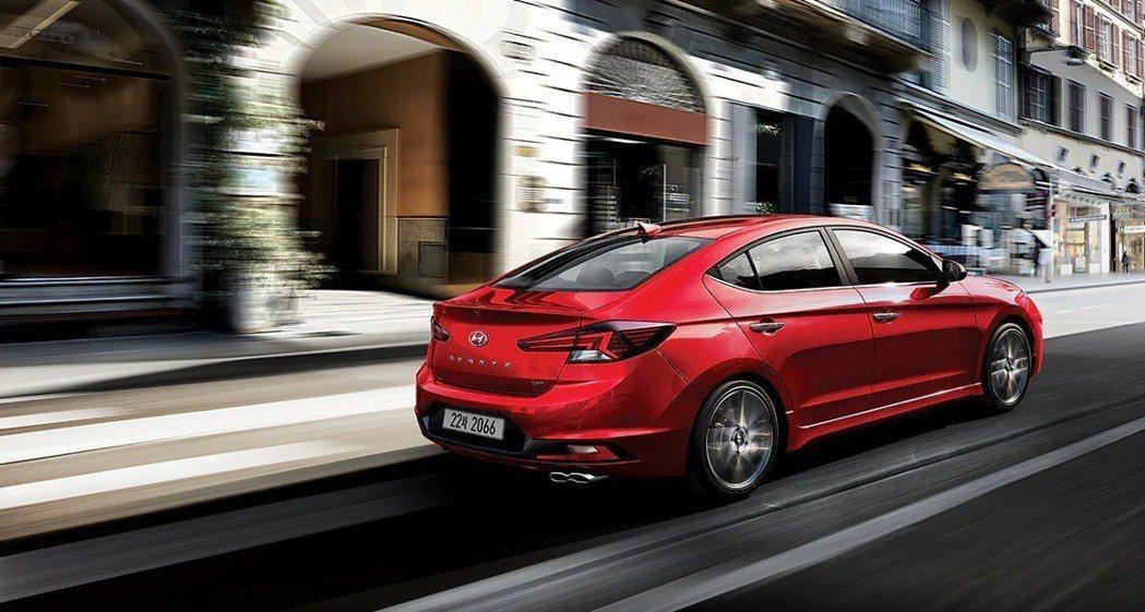小改款Hyundai Elantra Sport動力仍維持相同的1.6升T-GD...