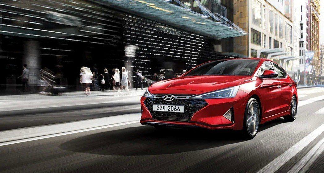 第六代小改款Hyundai Elantra Sport。 摘自Hyundai