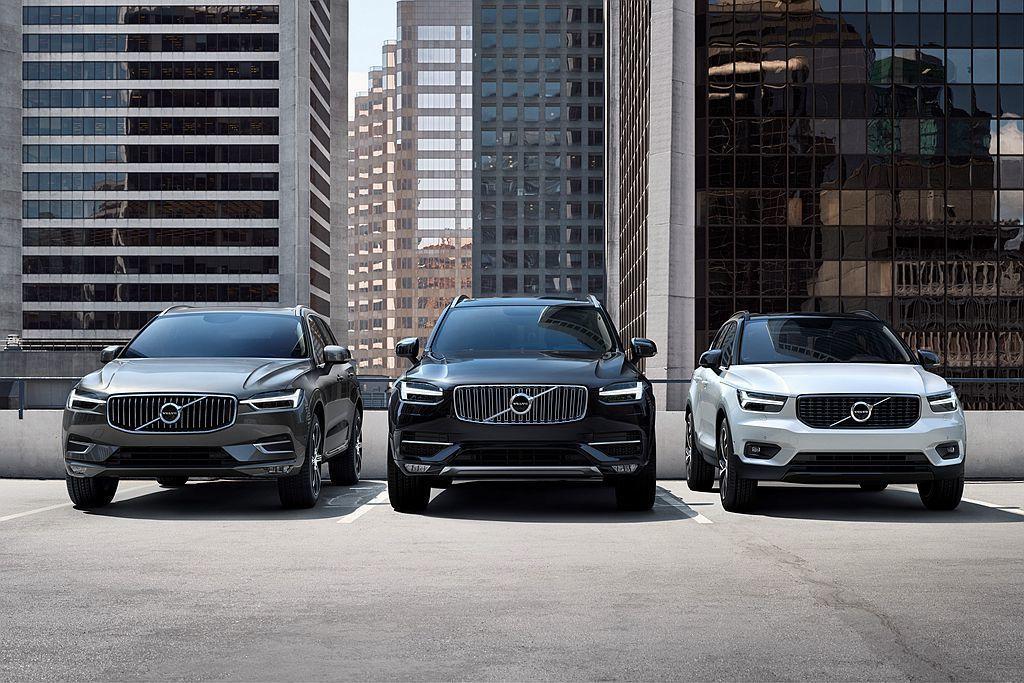 乘全球休旅銷售熱潮,Volvo Cars今年前三季全球銷售表現相當亮眼。 圖/V...