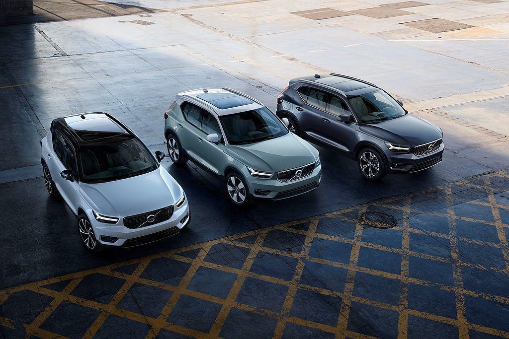 Volvo Cars首款都會跨界休旅車XC40,今年前三季於全球共賣出48,543輛,是品牌中第三暢銷車型。 圖/Volvo Cars提供