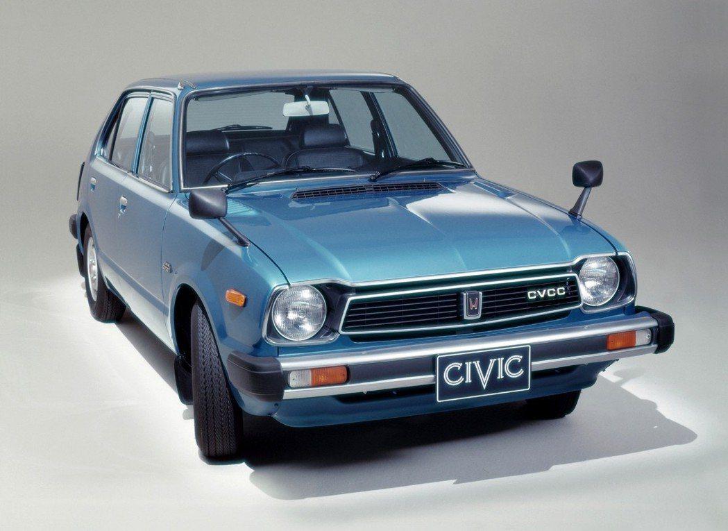 初代Civic於1977年引進國產。 摘自Honda