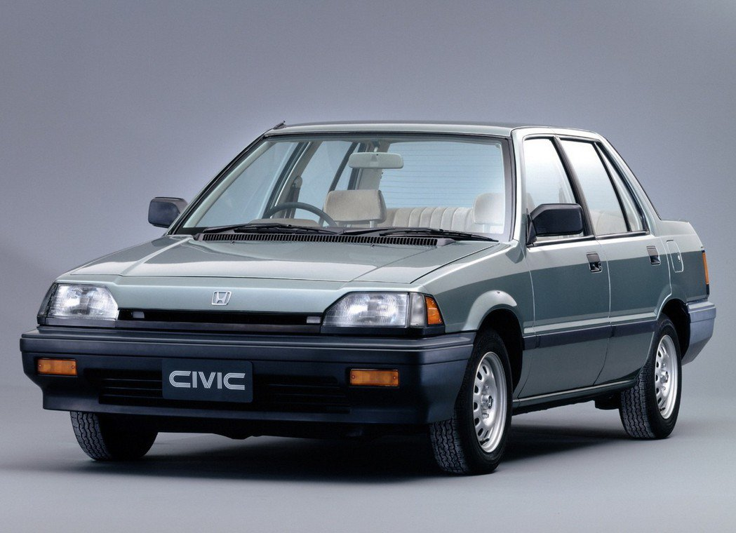 1984-1987 三代Honda Civic。 摘自Honda